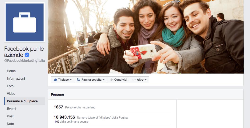 aumentare i mi piace su facebook
