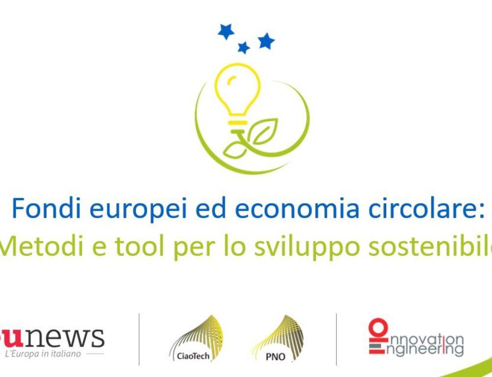 Mediamorfosi partner tecnico dell'evento su Economia Circolare e Fondi Europei